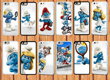 2016 Cute The Smurfs Hard Phone Case Cover for iPhone & Samsung Model