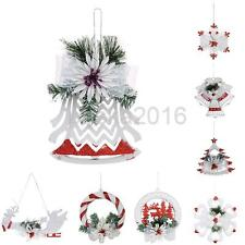 Xmas Tree Jingle Bell Santa Hanging Ornament Decoration Christmas Home Decor NEW