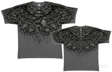 Fantasy-Crypt Caller (Slim Fit) Apparel T-Shirt - Charcoal