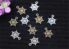 15/60/300pcs Tibetan Silver Beautiful Rudder Jewelry Charms Pendant DIY 18x13mm