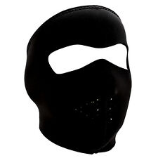 Tactical Black Neoprene FULL Face Mask, Ski, Bike Face Protective Gear