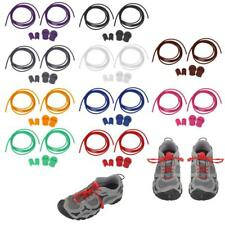 Reflective Bungee Shoe Laces Elastic Running Sport Lock Triathlon Laces Colorful