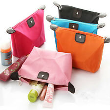 Cosmetic Case Toiletry Makeup Bag Handbag Organizer Storage Pouch Purse 4 Colors