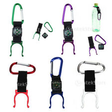 Compass Carabiner Water Bottle Buckle Hook Clip Snap Strap Holder Camping Hiking