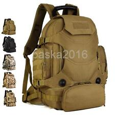 Military Tactical 3-Way Backpack Large 40L Assault Pack Waterproof Molle Bag
