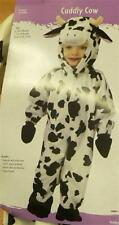 Cow Costume Black White Toddler Childs Infant dress up Fun World   Size 6-12 mo