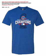 Chicago Cubs World Series Champions Locker Room T-Shirt