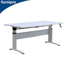 New Office/Home Electric Height Adjustable Desk Metal Frame Multi Colour Top