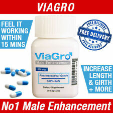 VIAGRO MALE PENIS ENLARGEMENT SEX PILLS - LIBIDO / VIRILITY ENHANCEMENT