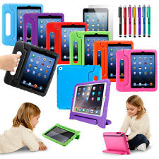 New Kids Shockproof Safe Foam Case Handle Cover Stand for iPad Mini Air Pro 2017