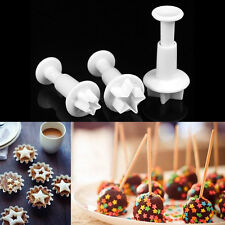 Fondant Cake Cutter Plunger Cookie Mold Sugarcraft Flower Decorating Mould