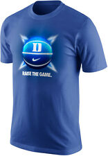 Nike DUKE BLUE DEVILS Raise The Game Basketball Dri-FIT Cotton T-Shirt New
