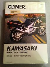 Clymer M468-2 Kawasaki Ninja ZX-6 1990-2004 Service Repair Maintenance Manual
