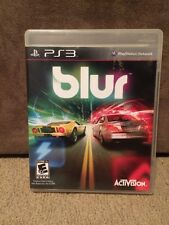 PS3 Blur (Sony PlayStation 3, 2010)Complete Excellent Shape Rare & Fun