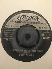 "Fats Domino - I Want To Walk You Home 7"" Vinyl"