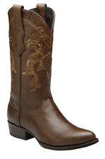 Genuine Deer Cowboy Western Boots made by Cuadra Boots