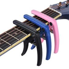 eno Quick Change Capo Clamp Plastic Steel for Electric Guitar Bass Nice New H6I8