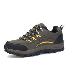 GOMNEAR men outdoor trail hiking shoes athletic sports non slip climbing shoes