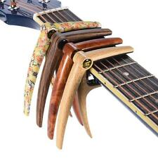 Quick Change Deluxe Capo for Acoustic Electric Guitar Bass Ukelele New M4K1
