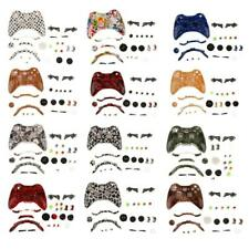 Full Housing Replacement Skin Case Button Kits for Xbox 360 Wireless Controller