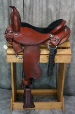 "Allegany Mountain Trail Saddle!  16.5"" seat.  Gaited bars!"