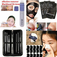 Women Men Facial Pore Cleanser Blackhead Acne Remover Skin Cleansing Mask Tool