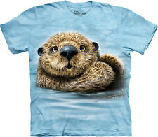 The Mountain Otter Totem Animal Nature Zoo Water Pet Adult Mens T Tee Shirt