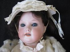 "Antique German Bisque ARMAND MARSEILLE 370 FLORADORA Doll 19"" tall"