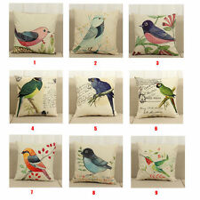 Cute Bird Cushion Covers Throw Pillow Covers Pillowcases Sweet Home Decor