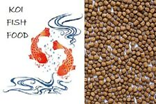 5 lbs Bulk Fish Food Pellets for all Sizes of Koi Goldfish Aquarium Pond Fish
