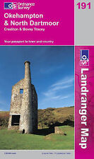 Okehampton and North Dartmoor by Ordnance Survey (Sheet map, folded, 2004)