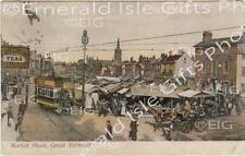 Great Yarmouth, Market Place early old Photo Print - Size Select - Norfolk