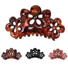 Phenovo Novelty Large Flowers Floral Hair Clamp Claw Clip Comb Grip Multi-color