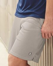 """Champion Mens Poly Mesh 9"""" Inseam Gym Shorts with Pocket S162 S-2XL Basketball"""