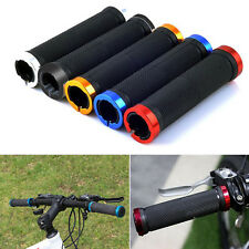 Mountain Bike Bicycle Scooter Anti-slip MTB Rubber Handle Bar Ends Hand Grips