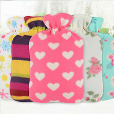 Flannel Hot Water Bag Cover Warm Cold-proof Heat Preservation Washable Cover
