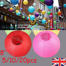 Round Chinese Paper Lanterns Lamp Wedding Birthday Balloons NEW YEAR Party Decor
