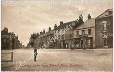 Norfolk Swaffham London Street from Market Place Old Photo Print - Size Select