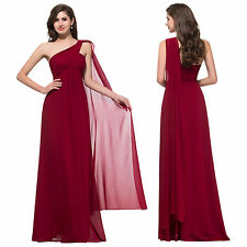 Long Chiffon Formal Evening Bridesmaid Dress Party Ball Prom Cocktail Gowns