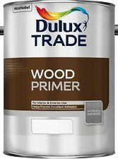 Dulux Trade Wood Primer White 1L, 2.5L and 5 Litres Tracked Postage