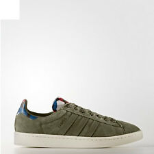 Adidas BB0077 Men Originals campus Running shoes khaki blue
