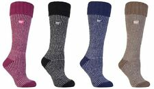 Heat Holders - Womens Thick Winter Warm Knee High Long Ribbed Thermal Boot Socks