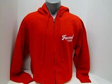 Case IH Farmall Men's Red Zip Hoodie - Sizes: M, L, XL, 2XL or 3XL