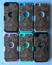 NEW DESIGN CAMO Tree Rugged Hard Case Cover For iPod Touch 5 or 6 5th / 6th Gen