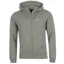 Nike Mens Fundamental Fleece Full Zip Hoody Medium Grey Heather