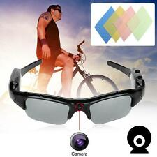 720P  Camera Video Sport Action Sunglass Glasses Spy Camcorder Cleaning Cloth TR