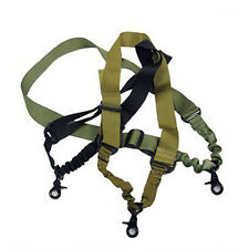 New 1 Single Point Adjustable Hunting Sling System Strap With Buckle Tactical