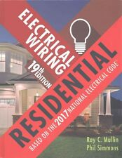 Electrical Wiring Residential by Ray C. Mullin Hardcover Book