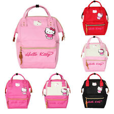 Anello Style Fashion School Backpack Rucksack Women's Canvas School bag Campus
