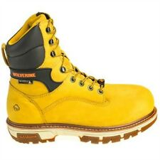 "Wolverine Boots Men's 10618 Safety Toe Insulated Waterproof 8"" Nation 10618 NEW"